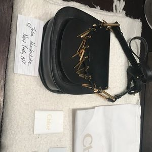 Chloe medium charm hudson shoulder bag